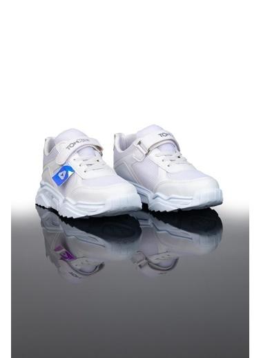 Letoon Ltn015 Çocuk Spor Ayakkabı Beyaz